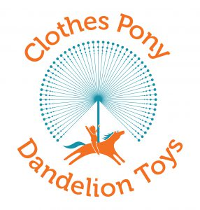 Clothes Pony / Dandelion Toys logo