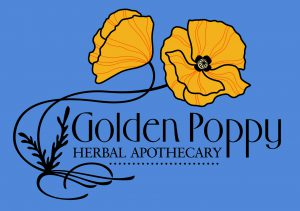 Golden Poppy Herbal Apothecary logo