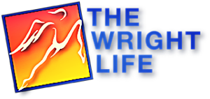 The Wright Life Logo